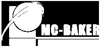mcbaker logo white